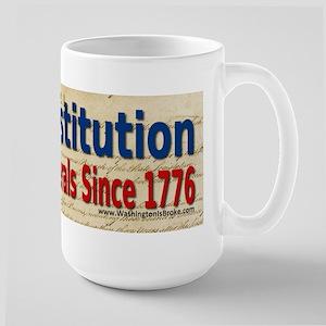 The Constitution Large Mug
