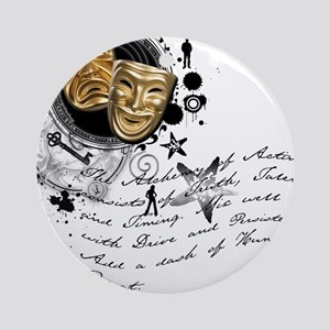 The Alchemy of Acting Ornament (Round)