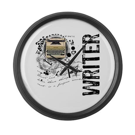 Writer Alchemy Large Wall Clock