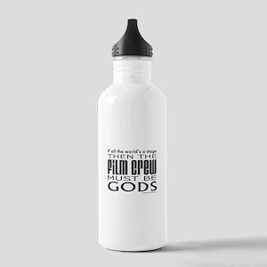 Film Crew Gods Stainless Water Bottle 1.0L