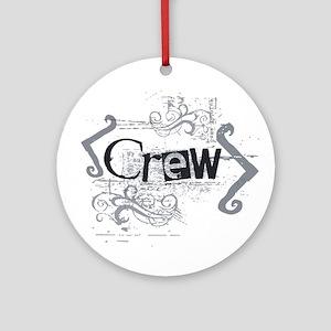 Grunge Crew Ornament (Round)