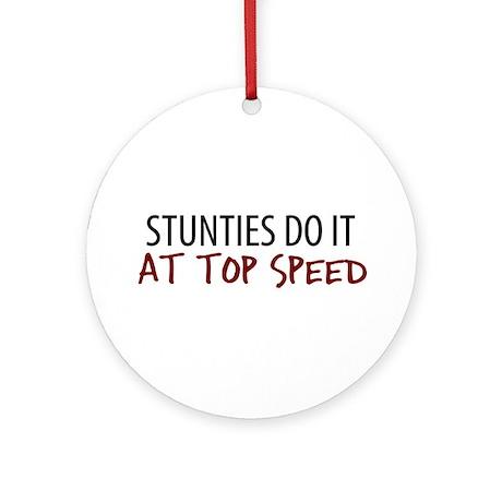 Top Speed Stunties Ornament (Round)