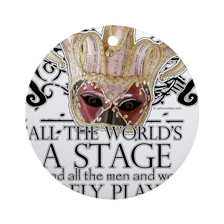 As You Like It II Ornament (Round)