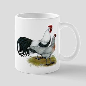 Phoenix Silver Chickens Mug