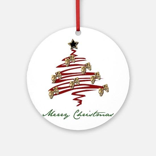 Drama Tree Ornament (Round)