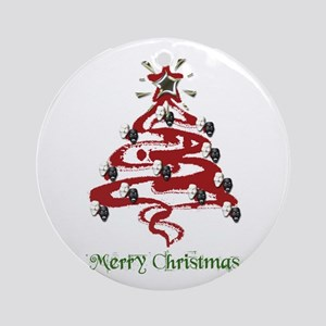 Actors' Christmas Tree Ornament (Round)