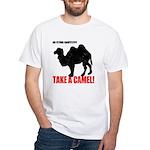 No Flying Carpet? White T-Shirt