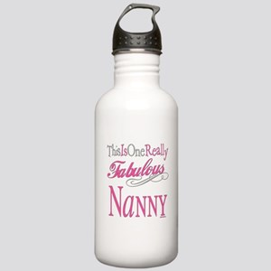 Fabulous Nanny Stainless Water Bottle 1.0L