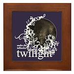 Twilight Influence Framed Tile