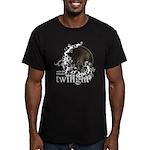 Twilight Influence Men's Fitted T-Shirt (dark)
