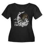 Twilight Influence Women's Plus Size Scoop Neck Da