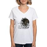 Twilight Influence Women's V-Neck T-Shirt