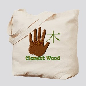 Wood Element Tote Bag