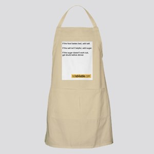 Not Advisable Chef's Apron
