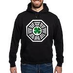 Green Luck Dharma Hoodie (dark)