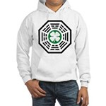 Green Luck Dharma Hooded Sweatshirt