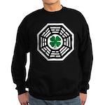 Green Luck Dharma Sweatshirt (dark)