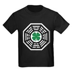 Green Luck Dharma Kids Dark T-Shirt