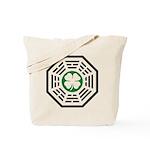 Green Luck Dharma Tote Bag