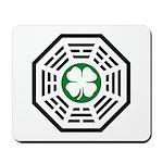 Green Luck Dharma Mousepad