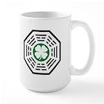 Green Luck Dharma Large Mug