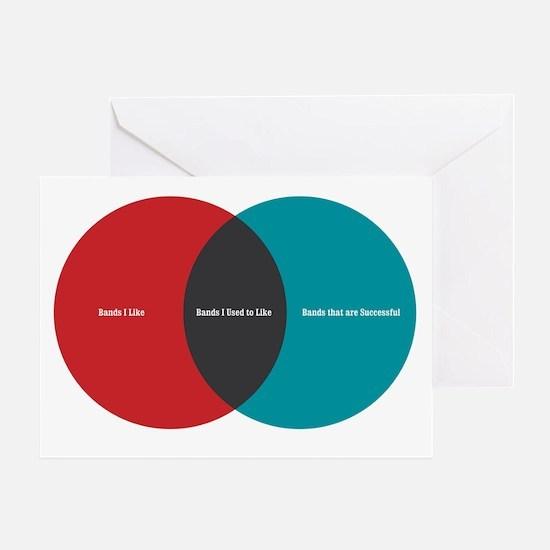 Music Elitism Greeting Card