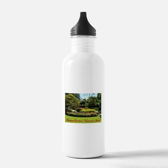 Flowers BG, VI Water Bottle