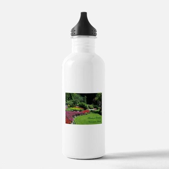 Flowers 3 BG, VI Water Bottle