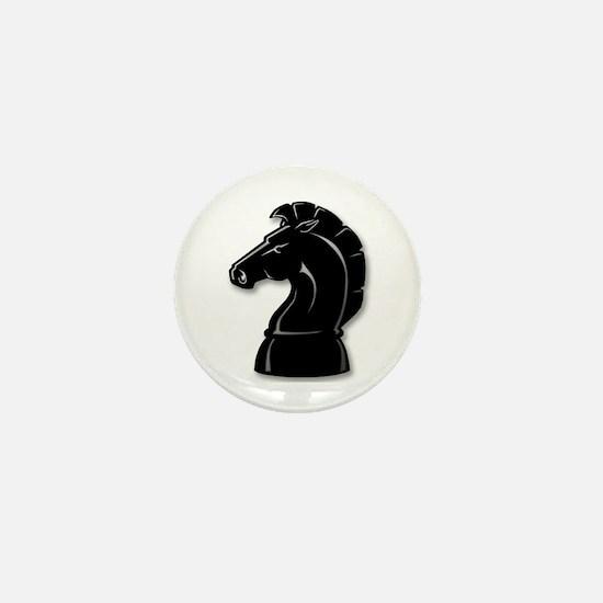 Chess Knight Mini Button
