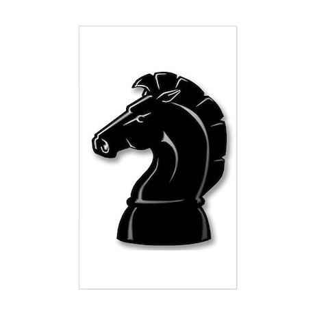 Chess Knight Rectangle Sticker