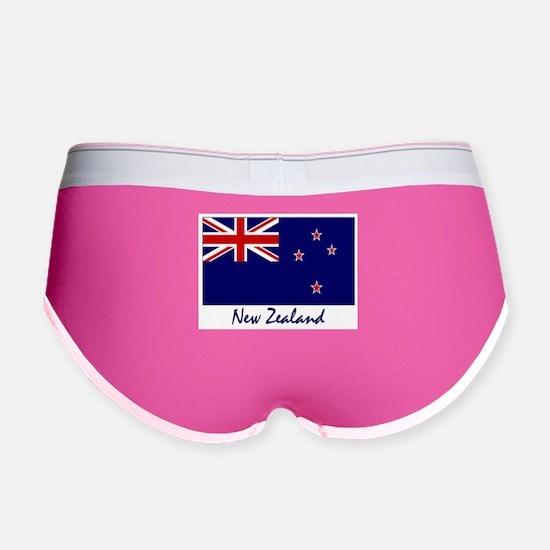 New Zealand Flag Women's Boy Brief