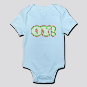 Christmas Oy! Infant Bodysuit