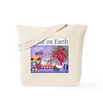 Rabbit Christmas Wish Tote Bag