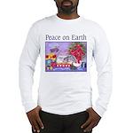 Rabbit Christmas Wish Long Sleeve T-Shirt