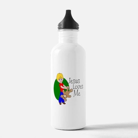 Jesus Loves Me Water Bottle