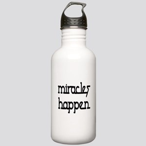 Miracles Happen Stainless Water Bottle 1.0L