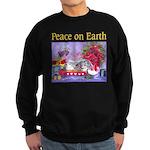 Rabbit Christmas Wish Sweatshirt (dark)