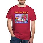 Rabbit Christmas Wish Dark T-Shirt