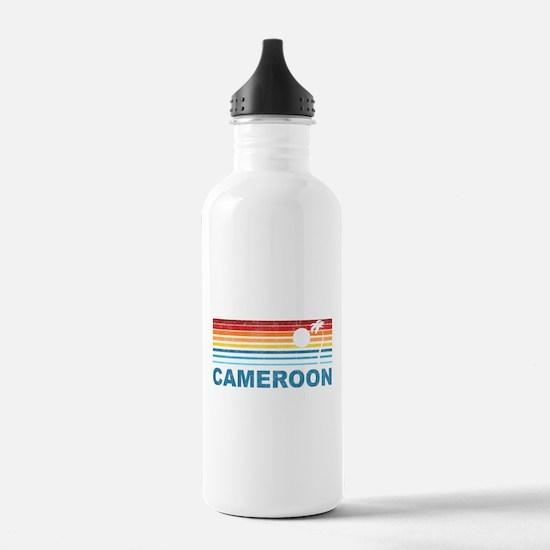 Palm Tree Cameroon Water Bottle