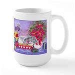 Rabbit Christmas Wish Large Mug