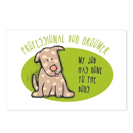 Funny Dog Groomer Postcards (Package of 8)