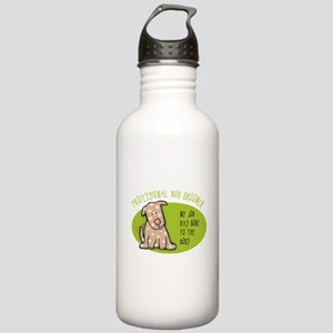 Funny Dog Groomer Stainless Water Bottle 1.0L