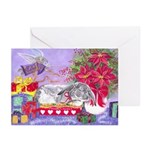Rabbit Peace Christmas Greeting Cards (Pk of 10)