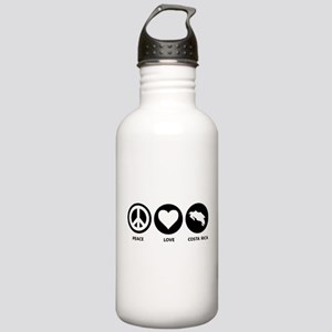 Peace Love Costa Rica Stainless Water Bottle 1.0L
