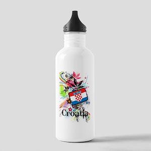 Flower Croatia Stainless Water Bottle 1.0L