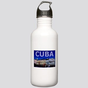 Vintage Cuba Art Stainless Water Bottle 1.0L
