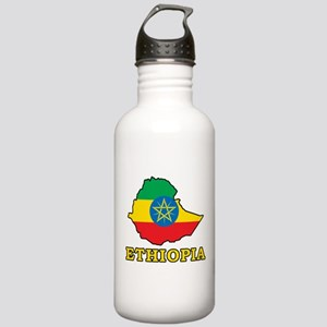 Map Of Ethiopia Stainless Water Bottle 1.0L