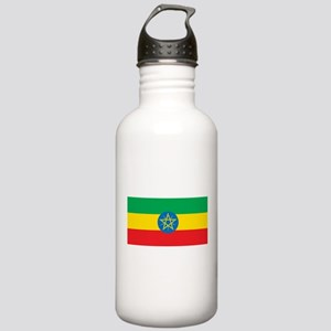 Ethiopia Flag Stainless Water Bottle 1.0L