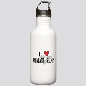 I Love Falkland Islands Stainless Water Bottle 1.0