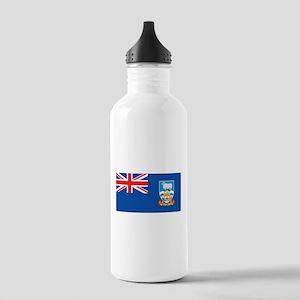 Falkland Islands Flag Stainless Water Bottle 1.0L